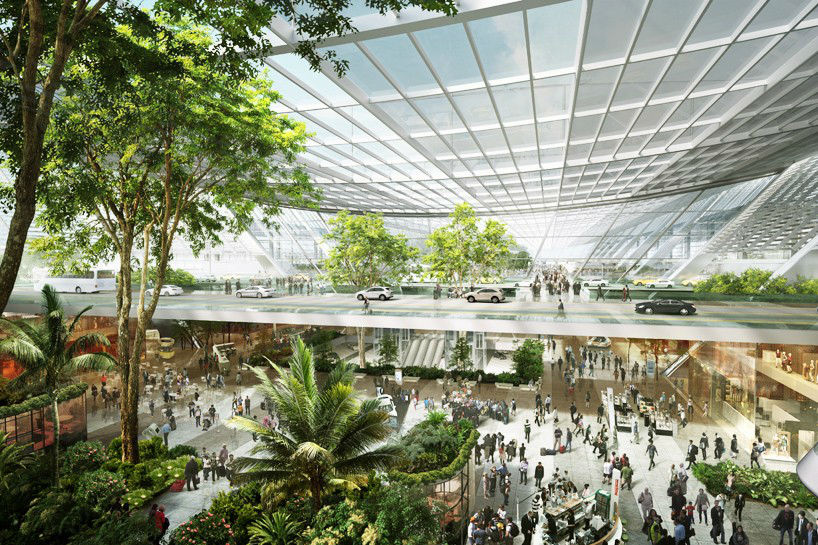 Foster + Partners Release Stunning Proposed Design of Taiwan Taoyuan Airport Despite Failed Bid